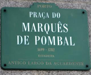 Praça marquês de pombal porto