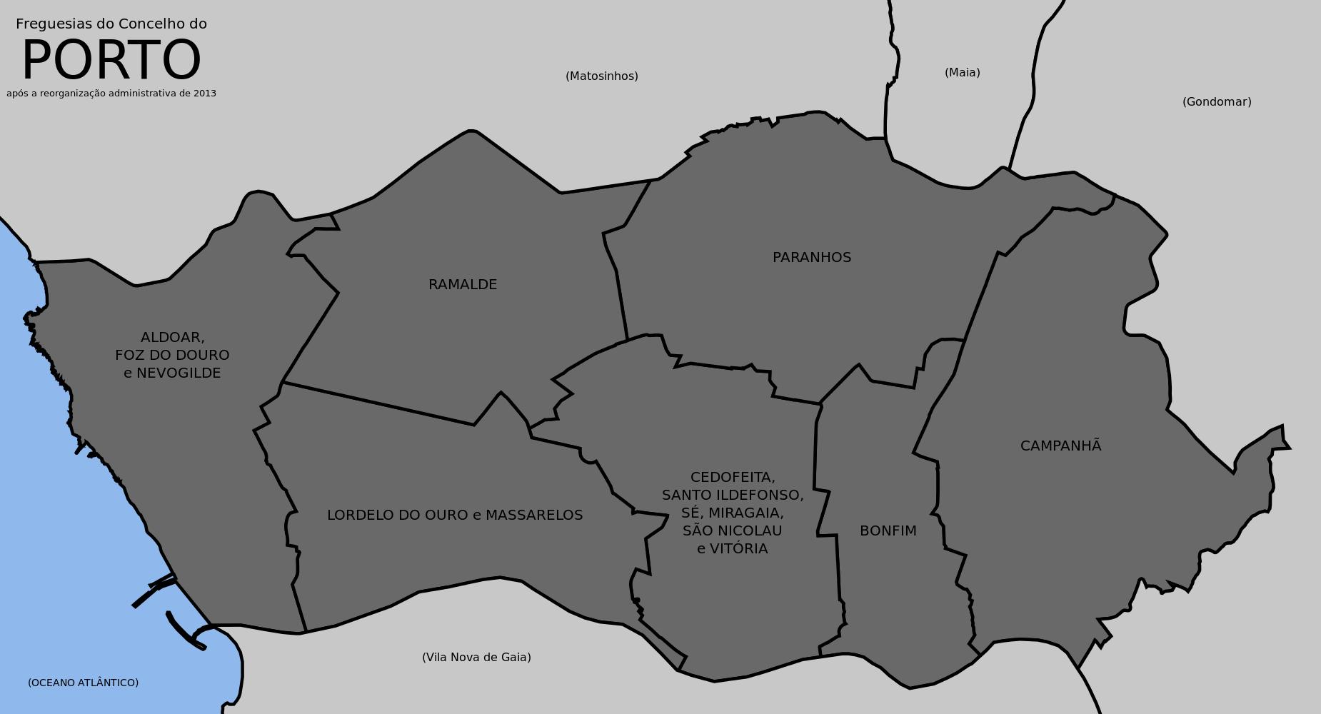 mapa porto freguesias Juntas de Freguesia (Porto) – INDEPENDENTES CONQUISTAM MAIOR  mapa porto freguesias