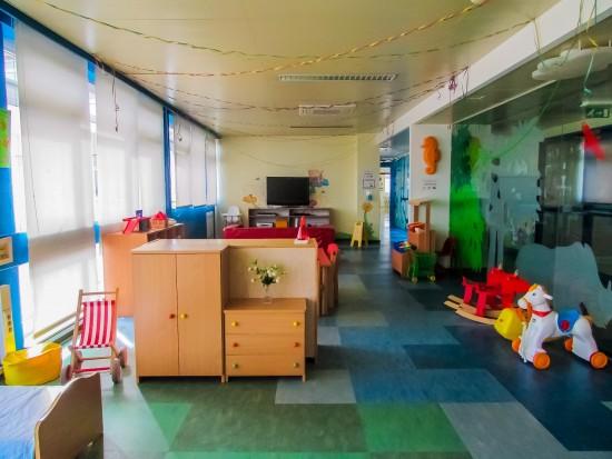 Instalações da Pediatria do IPO