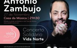 Imagem concerto António Zambujo