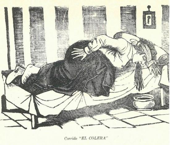 Doente com cólera