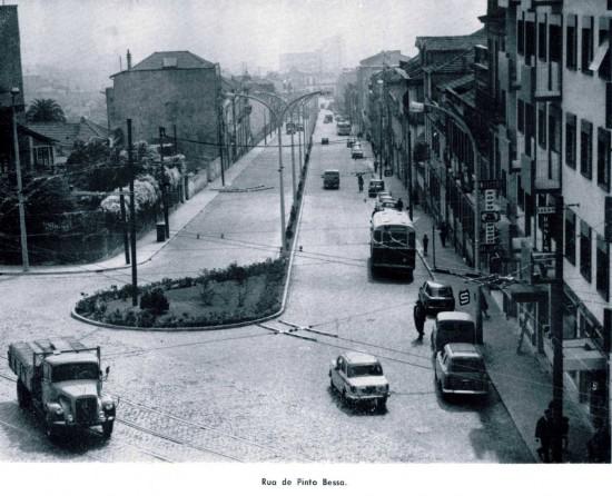 Rua de Pinto nos ano 50 do século passado (foto: pesquisa Google)