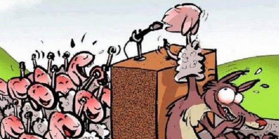 populistas - cartoon