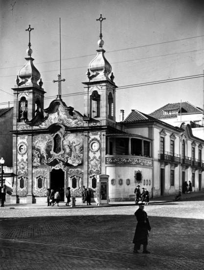 Igreja do Carvalhido nos anos 50 do século XX