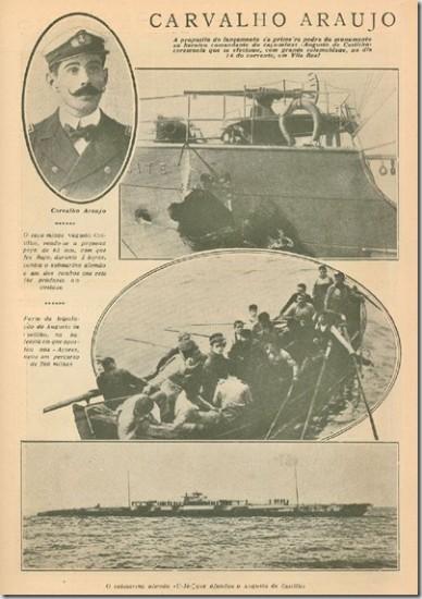 """1918: Navio """"Augusto de Castilho"""""""