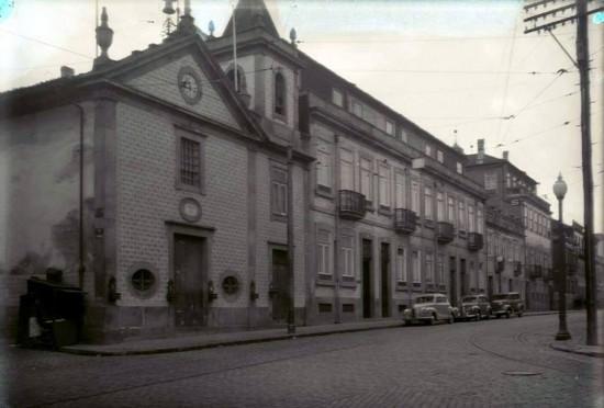 Capela da Nossa Senhora da Saúde (Rua do Heroísmo) c. 1950