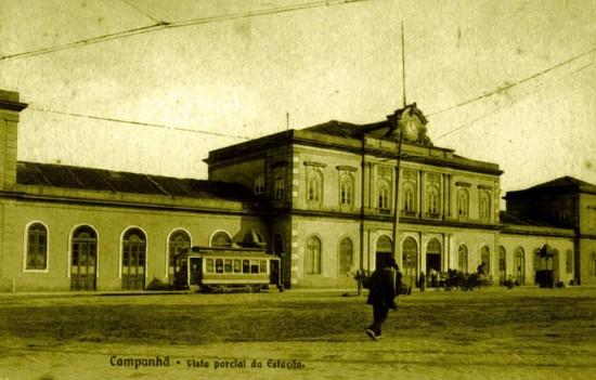Estação ferroviária de Campanha - c. 1910