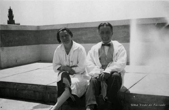 Abel Salazar e Adelaide Estrada