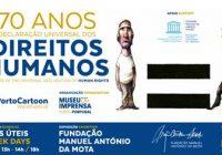 """Humor sobre Direitos Humanos em exposição no """"Mercado do Bom Sucesso"""""""