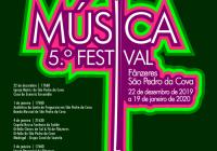 """Quinta edição do """"Festival de Música de Fânzeres e São Pedro da Cova"""" quer """"privilegiar a diversidade sonora""""… a partir de 22 de dezembro"""