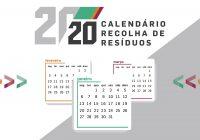 MAIA DISPONIBILIZA CALENDÁRIOS DE RECOLHA DE RESÍDUOS PARA 2020