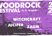 """""""WoodRock Festival"""" anuncia as três primeiras bandas para a sua 8.ª edição"""