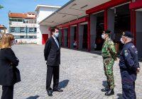 """RUI MOREIRA FAZ PÉRIPLO PARA AGRADECER AOS BOMBEIROS E POLÍCIA MUNICIPAL O """"TRABALHO EXTRAORDINÁRIO"""" QUE TÊM VINDO A DESENVOLVER"""