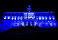 Palácio da Bolsa iluminou-se de azul, tal como outros 180 edifícios icónicos da Europa, para celebrar o 75.º aniversário da ONU
