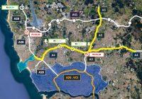 Futuro da Via de Cintura Interna (VCI) alinha-se com menos veículos pesados e melhorias nas infraestruturas