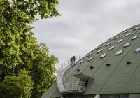 Subida à cúpula do pavilhão Rosa Mota é novo atrativo nos jardins do Palácio de Cristal
