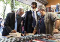"""""""A Feira do Livro é uma realidade cultural determinante na vida do Porto e do país!"""", palavras do Presidente da República na abertura do certame"""